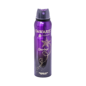 Fawaris Stardust Perfume Body Spray for Women - 150 ml