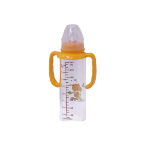 Potato standard Neck Glass bottle without hand (3 - 6 Month) F8052- 240 ml